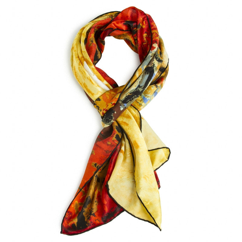 Van Gogh Vineyard Silk Scarf | Getty Store