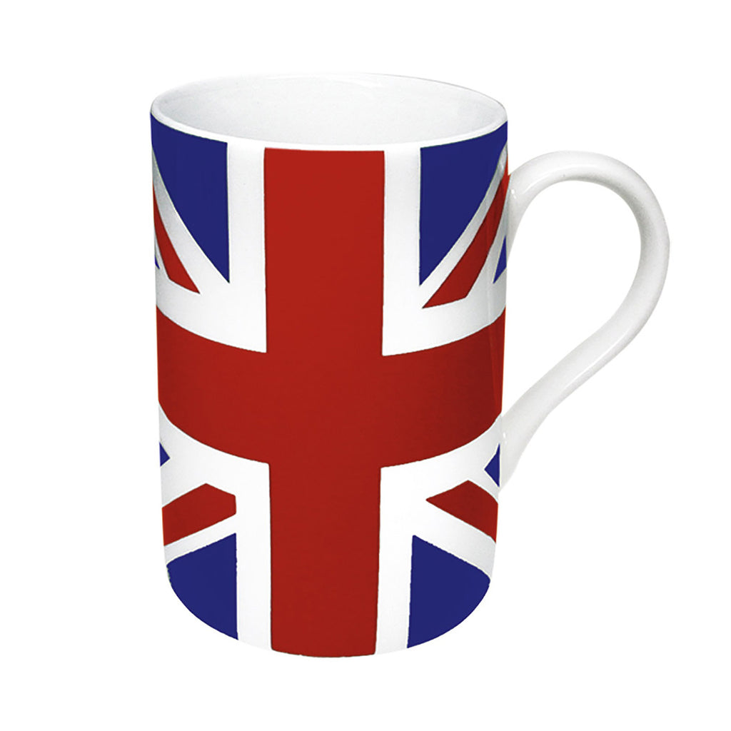 Union Jack Porcelain Mug