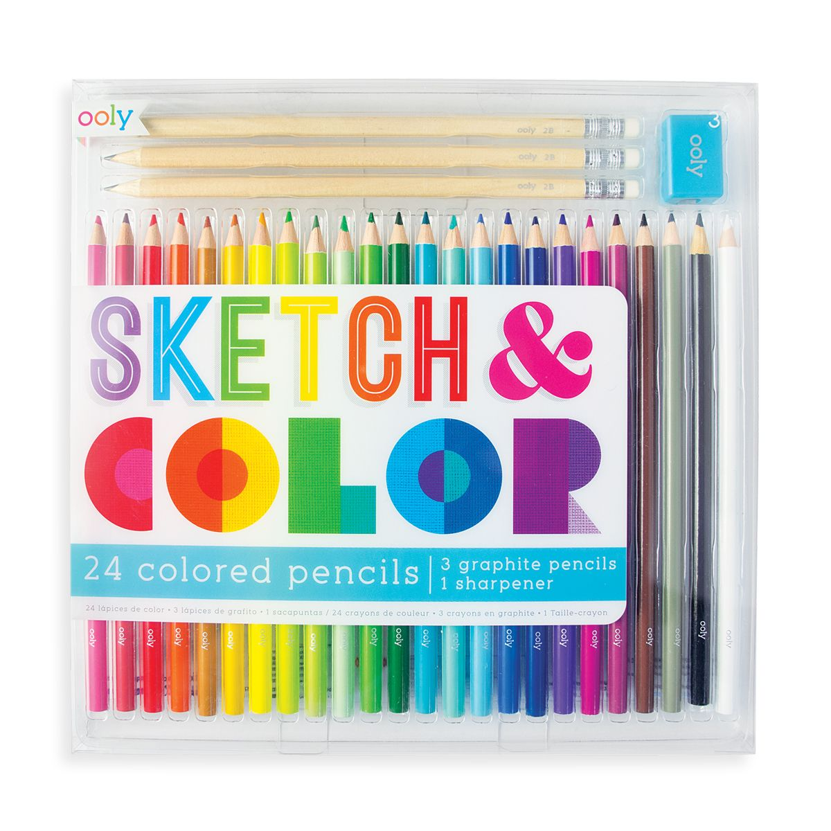 Sketch and Color: Colored Pencil Set | Getty Store