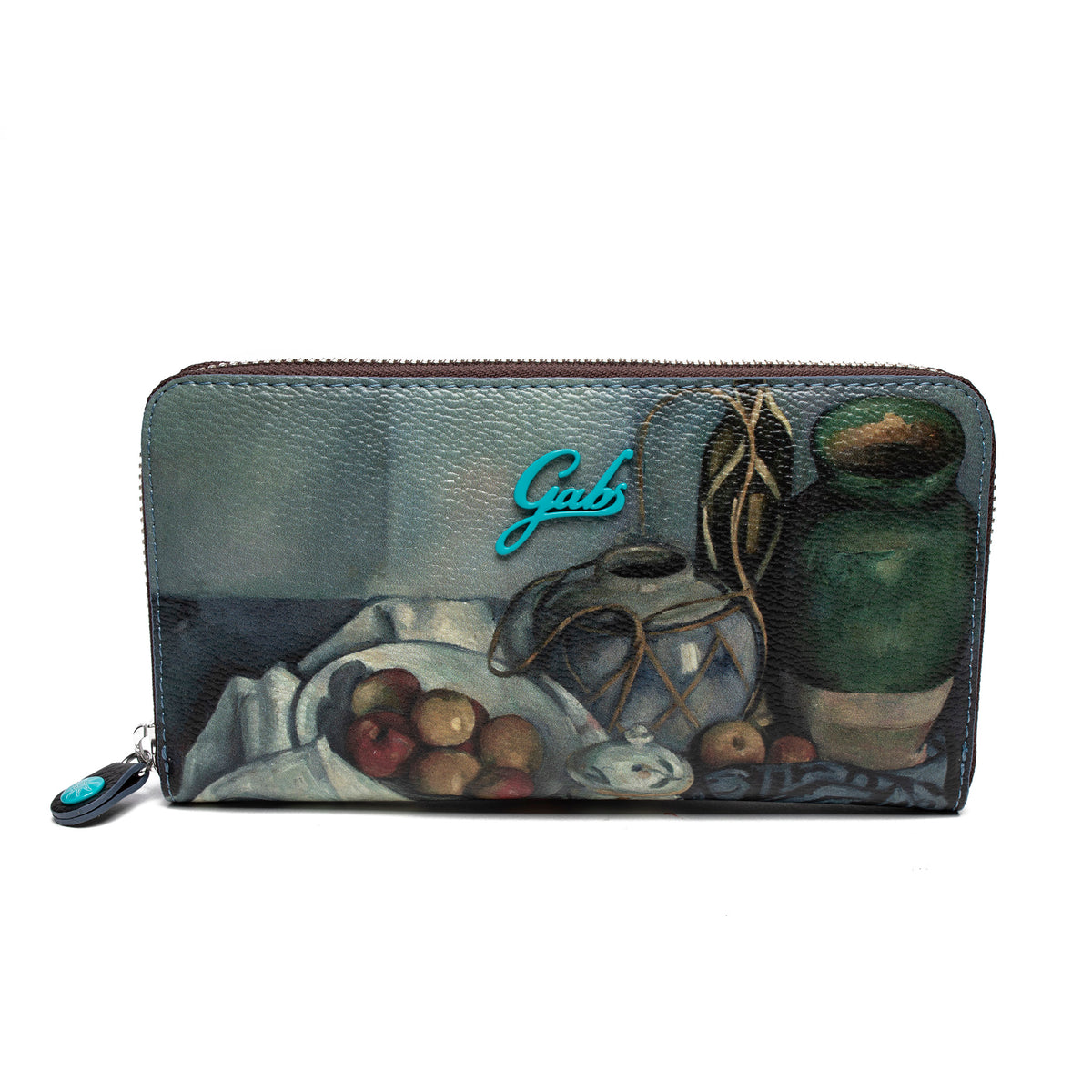 Wallet featuring Cezanne's Still Life with Fruit by Gabs, Italy