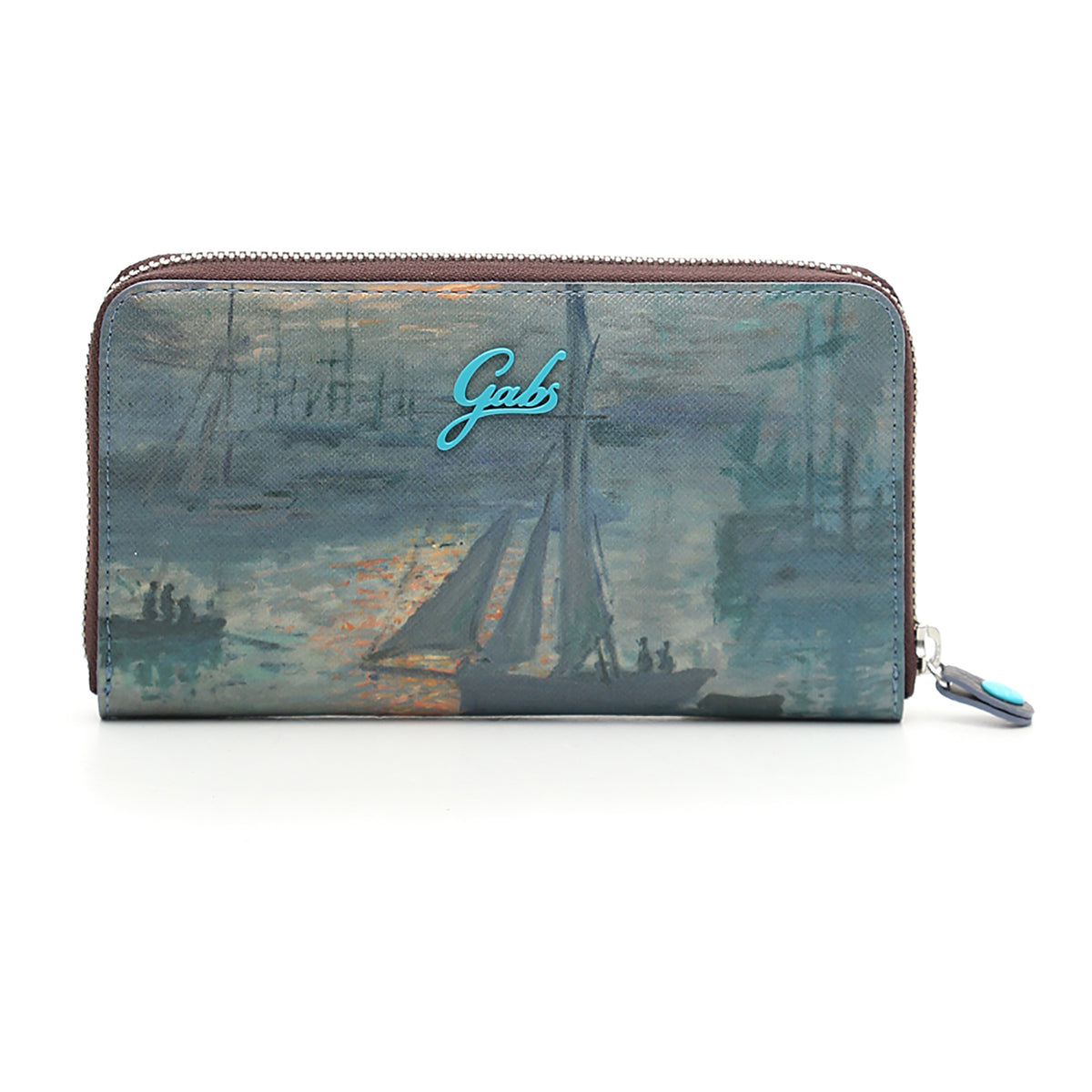 Wallet featuring Monet's Sunrise (Marine) by Gabs, Italy | Getty Store