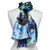 Van Gogh The Starry Night Silk Scarf- Shown on Mannequin | Getty Store