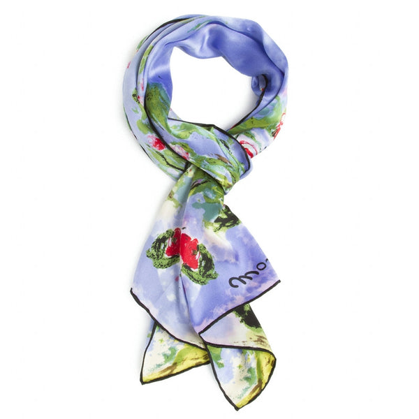 Claude Monet <i>Waterlilies</i> Silk Scarf