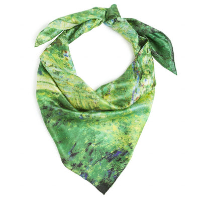 Claude Monet's <i>Japanese Bridge </i> Silk Scarf