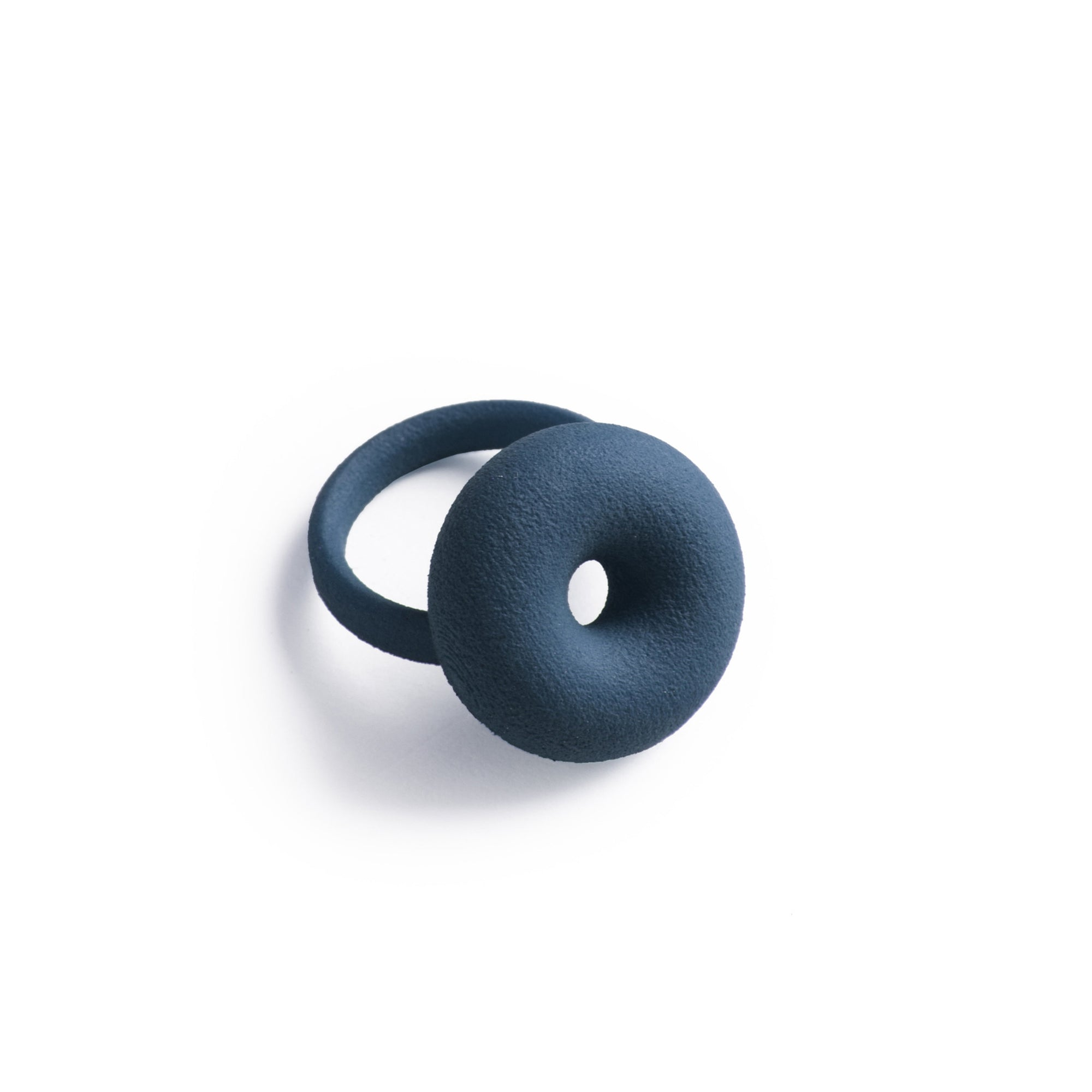 3D Printed Midnight Blue Ring | Getty Store