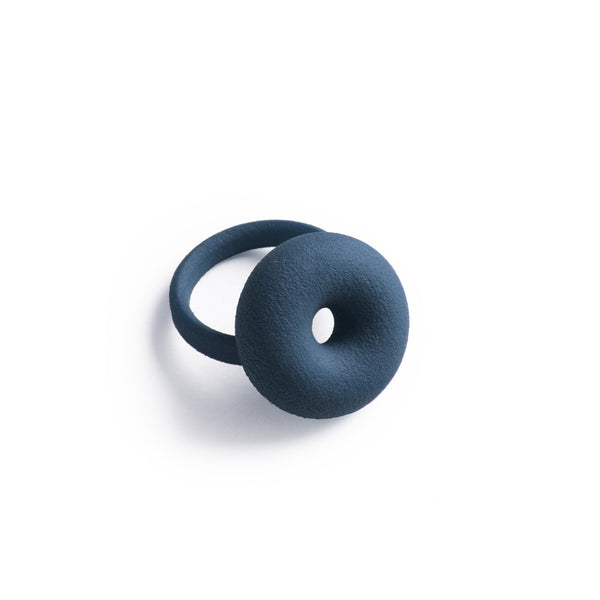 3D Printed Midnight Blue Ring