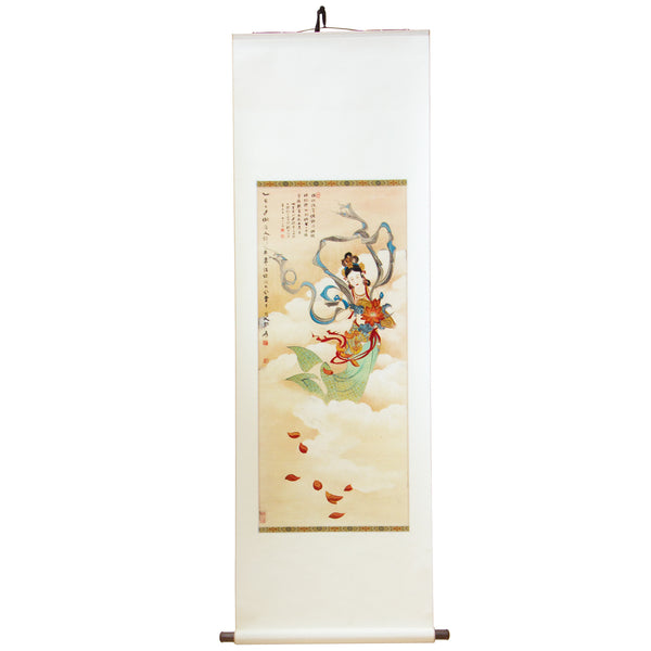 Fair Lady - Chinese Scroll