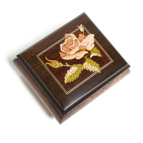 Italian Music Box - Rose Elm