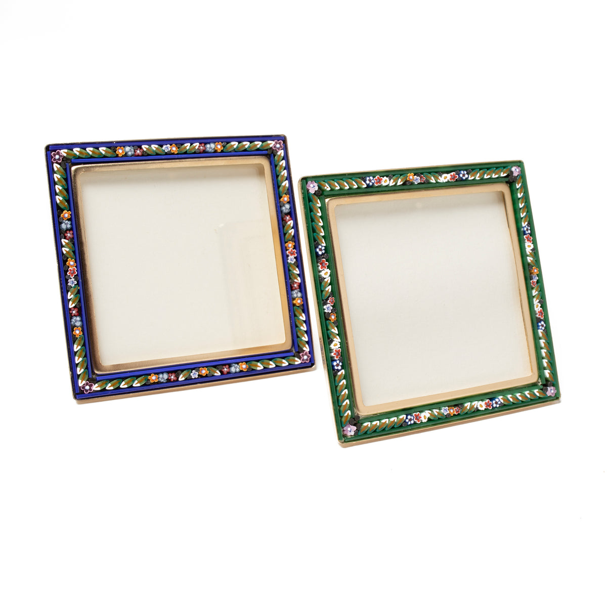 Murano Glass Mosaic Frame-Square | Getty Store