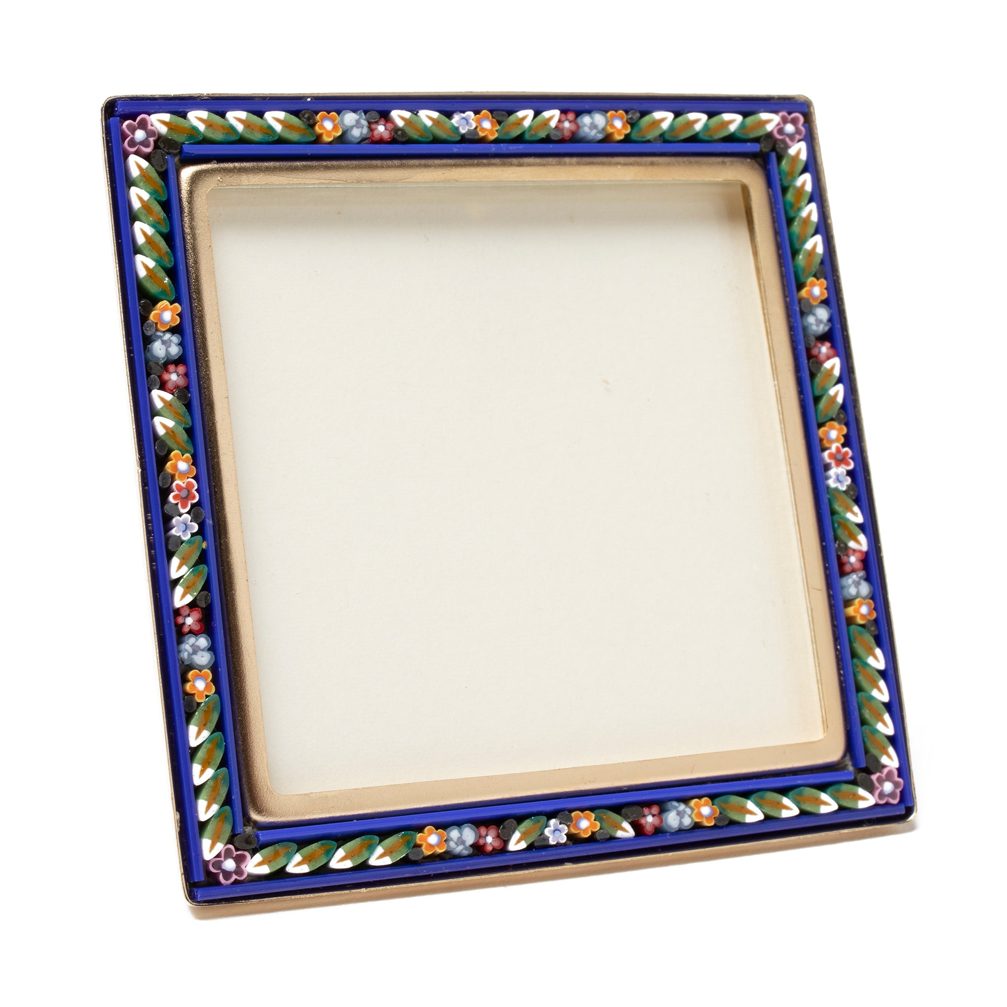 Murano Glass Mosaic Frame - Square