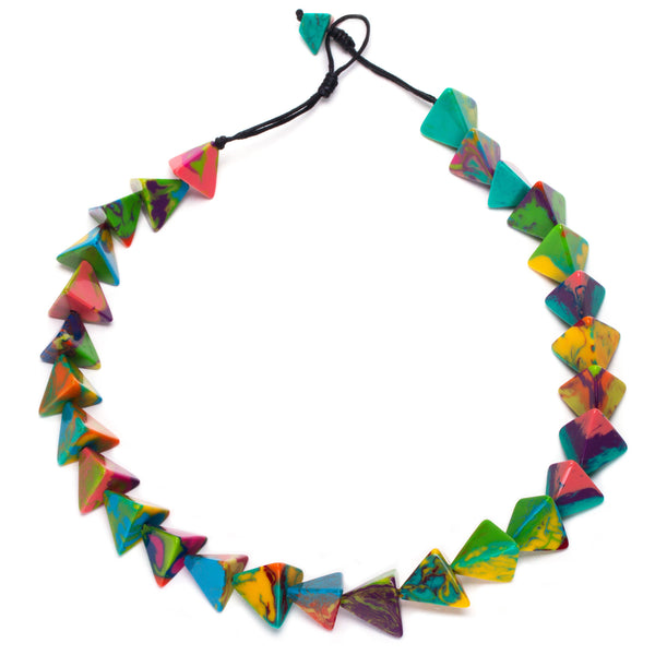 Colorful Resin Necklace