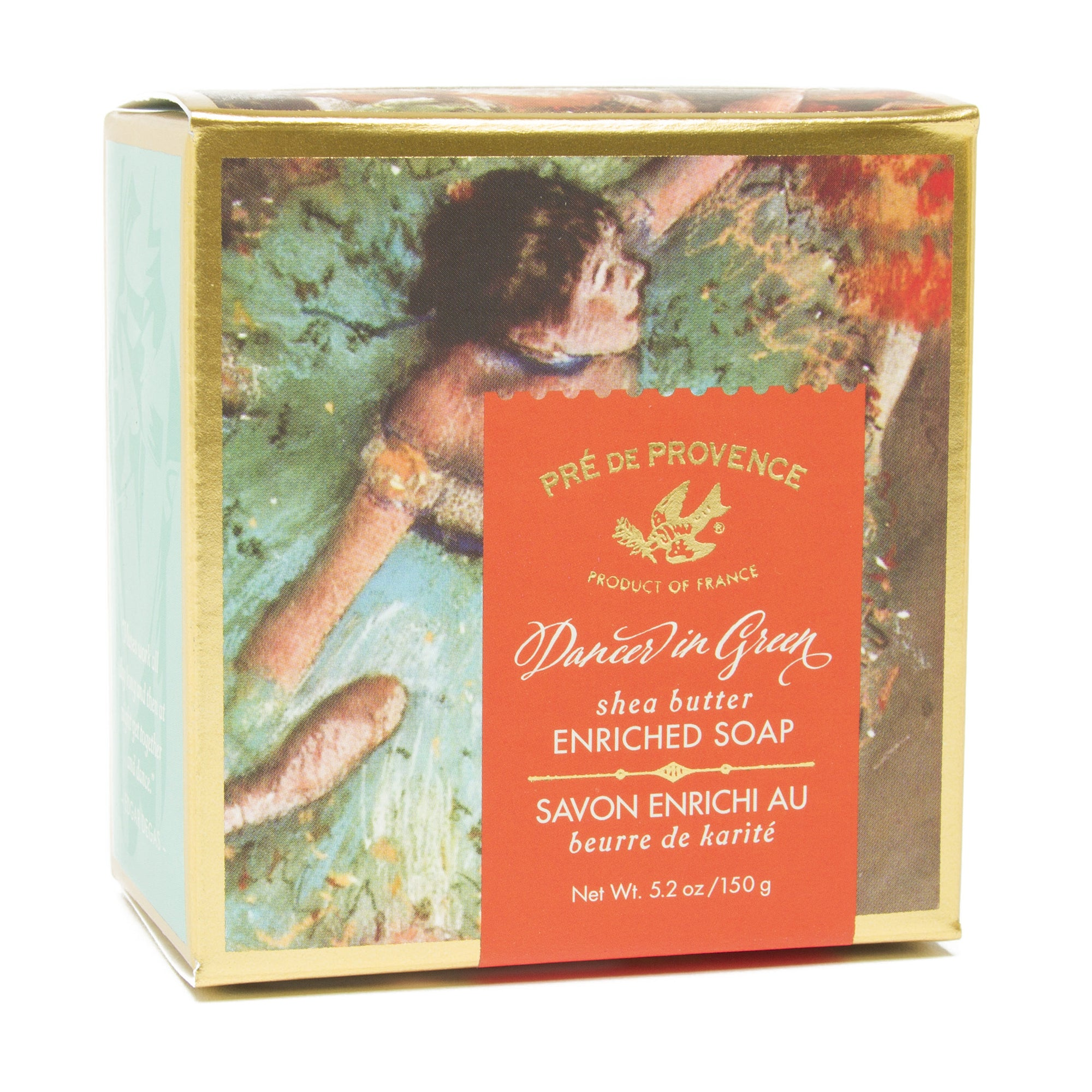 French Artisan Soap - Degas' <i>Green Dancer</i>