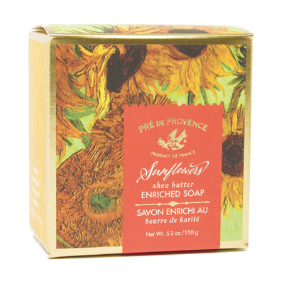 French Artisan Soap - Van Gogh's <i>Sunflowers</i>