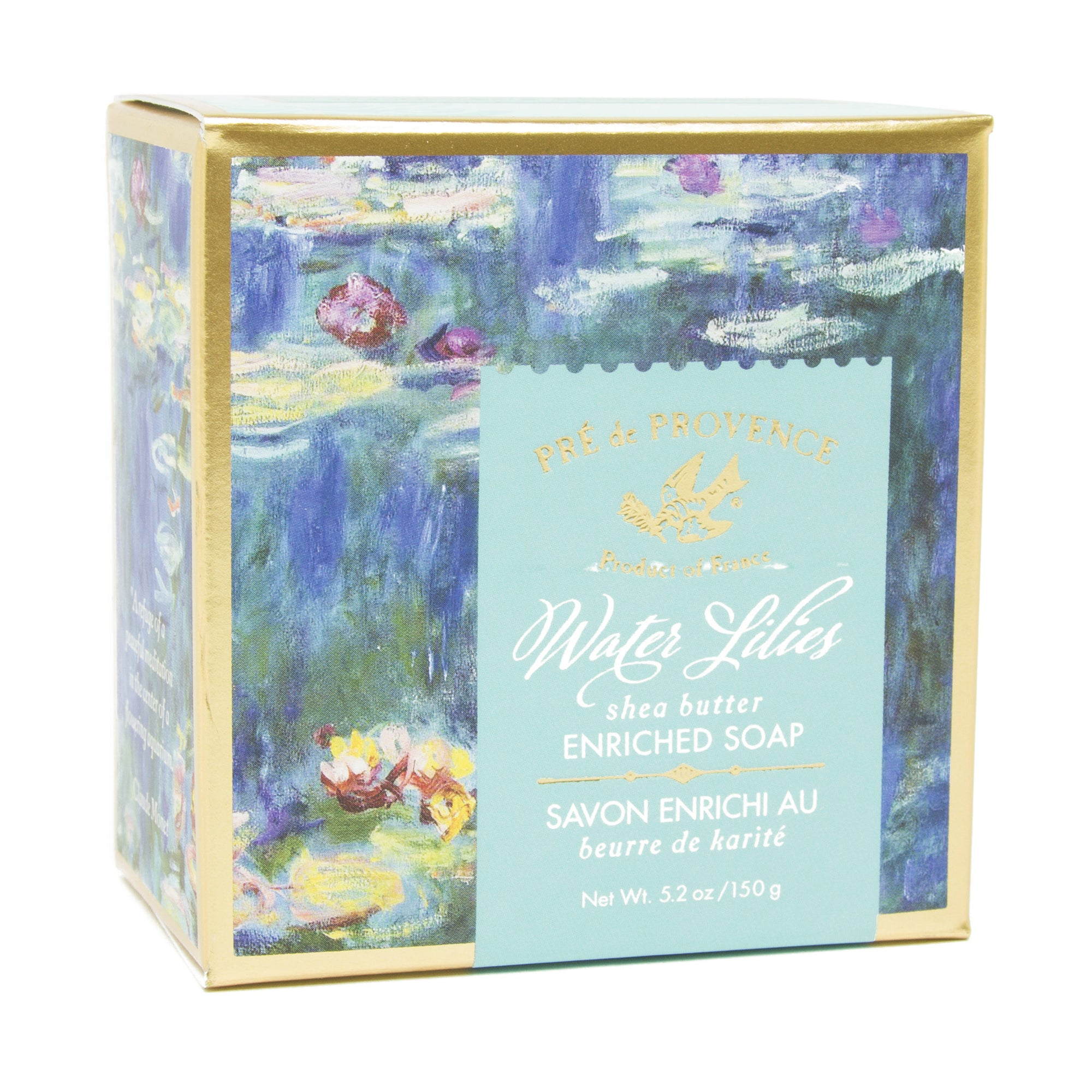 French Artisan Soap - Monet's <i>Water Lilies</i>