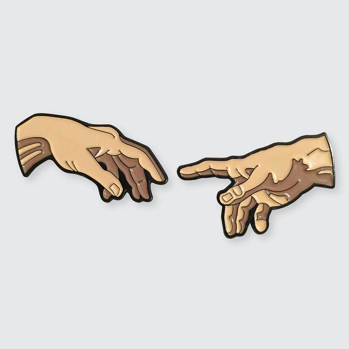 The Creation of Adam - Set of 2 Pins