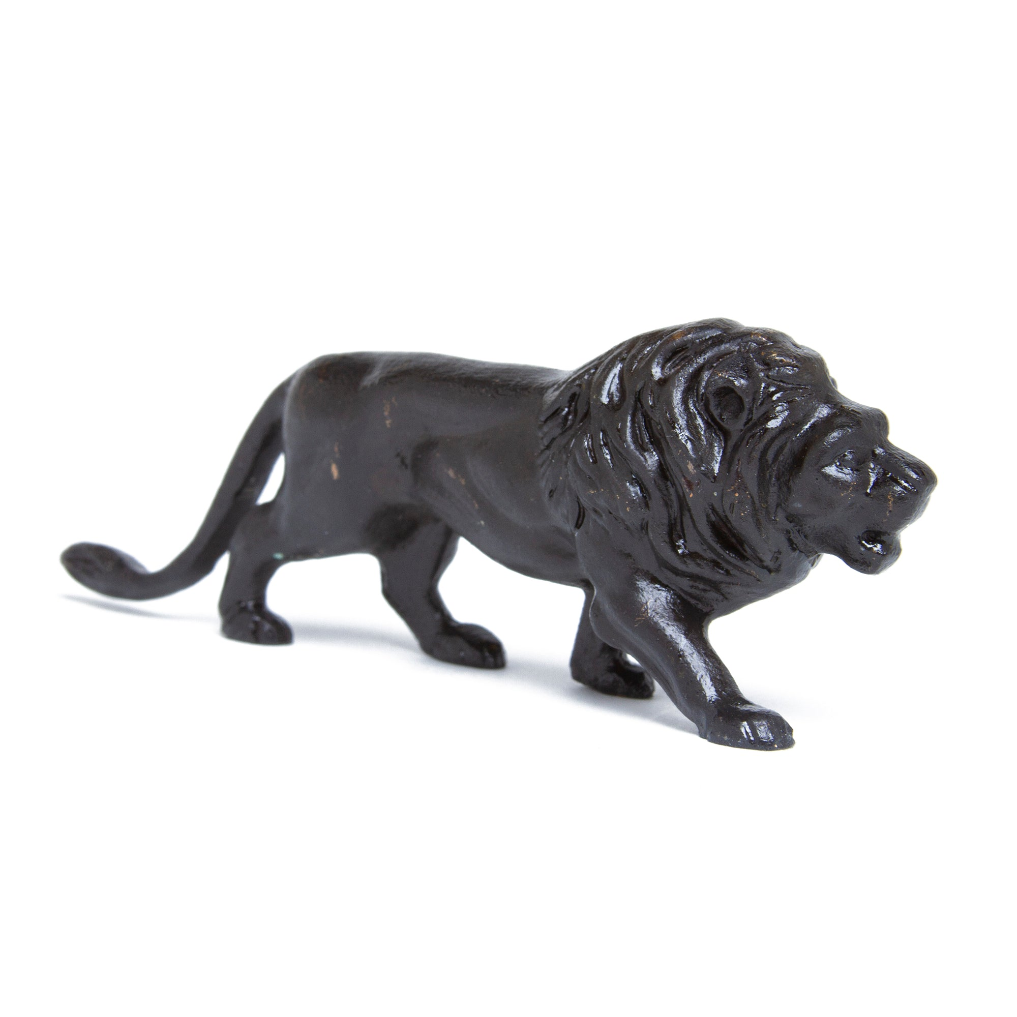 Etruscan Lion Sculpture- Cast Brass Reproduction | Getty Store