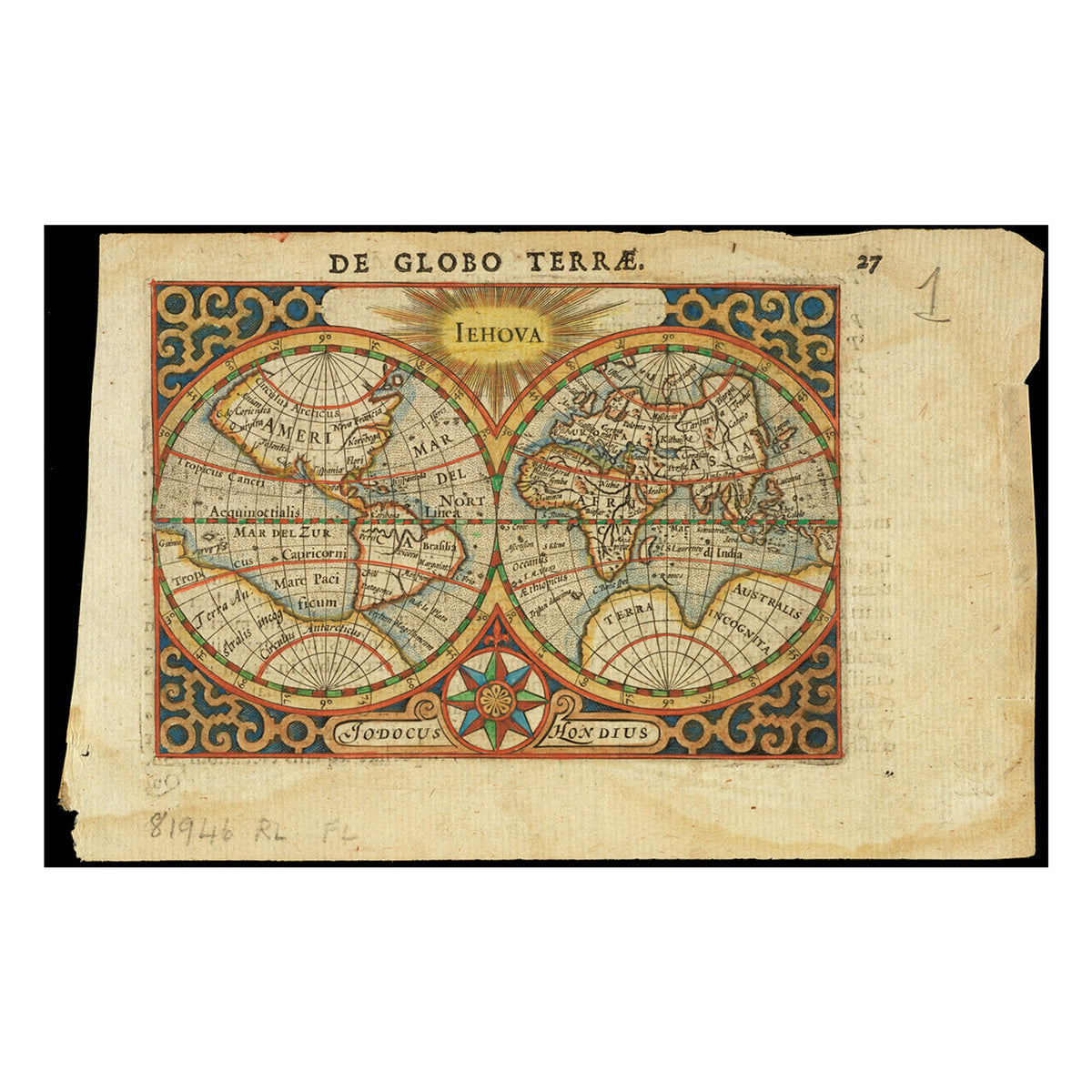 Old World Map Kaleidoscope- Inspiration artwork for map Kaleidoscope | Getty Store