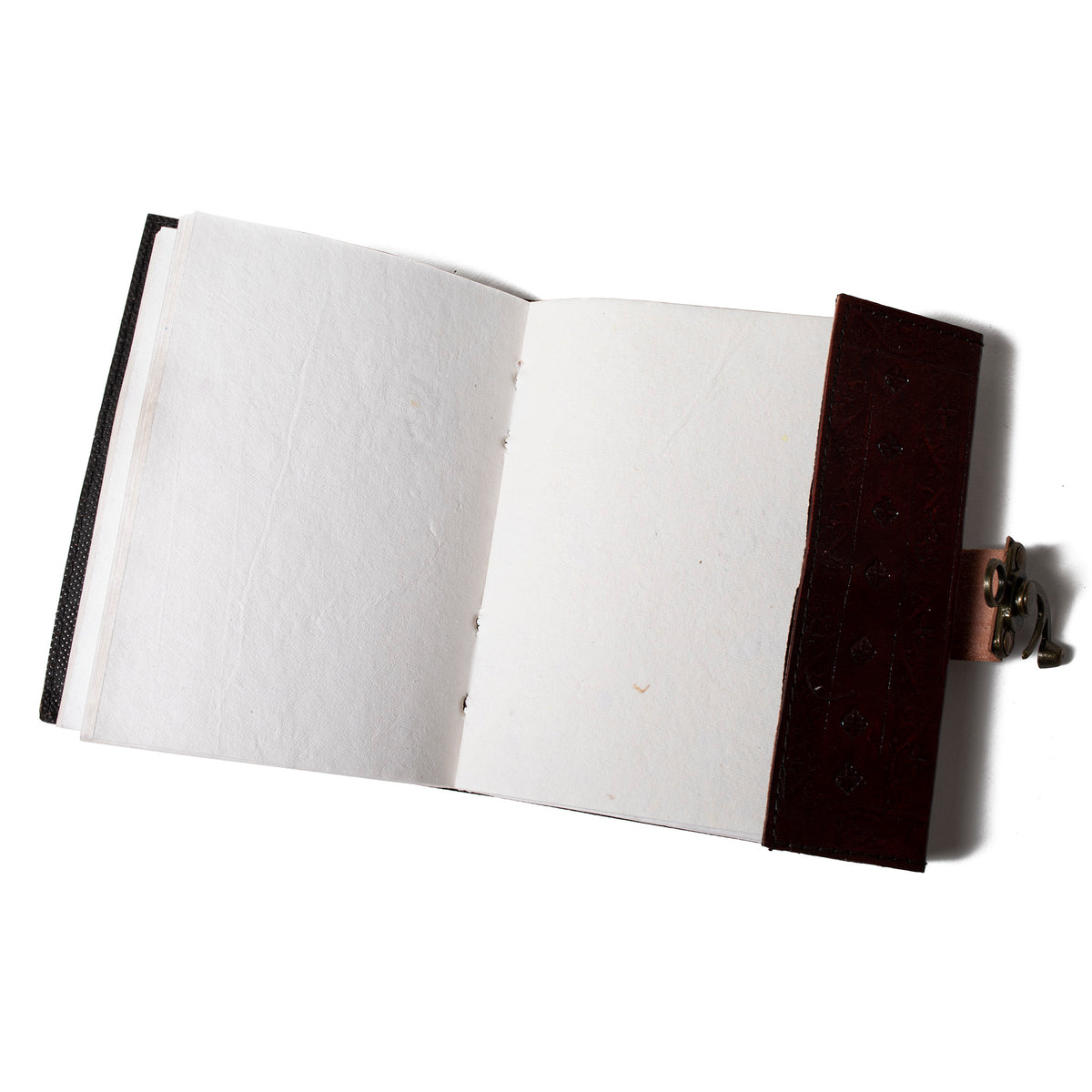 Leather Sketchbook- Gryphon- Shown Open | Getty Store