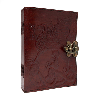 Leather Sketchbook - Gryphon