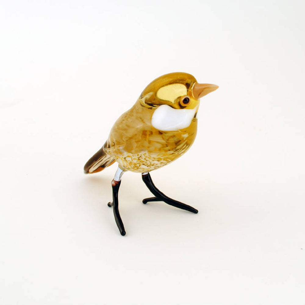Art Glass Bird- Wren | Getty Store