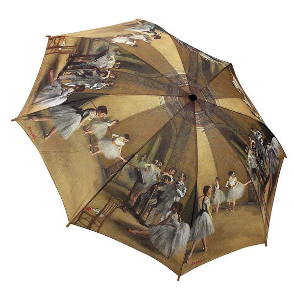 Degas' Ballerinas Folding Umbrella