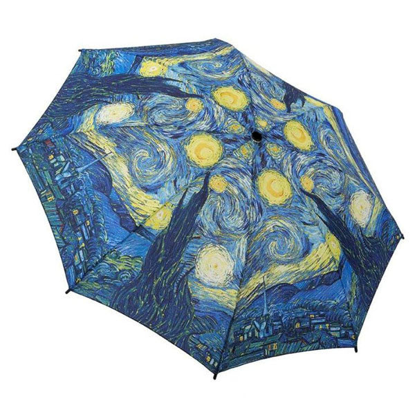 Starry Night by Van Gogh Folding Umbrella | Getty Store