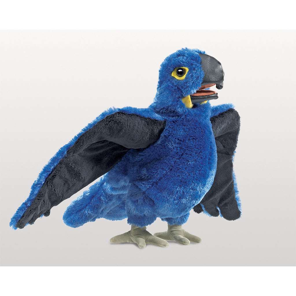 Blue Macaw Hand Puppet