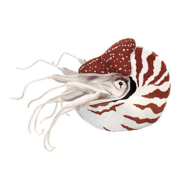 Nautilus in a Shell Hand Puppet