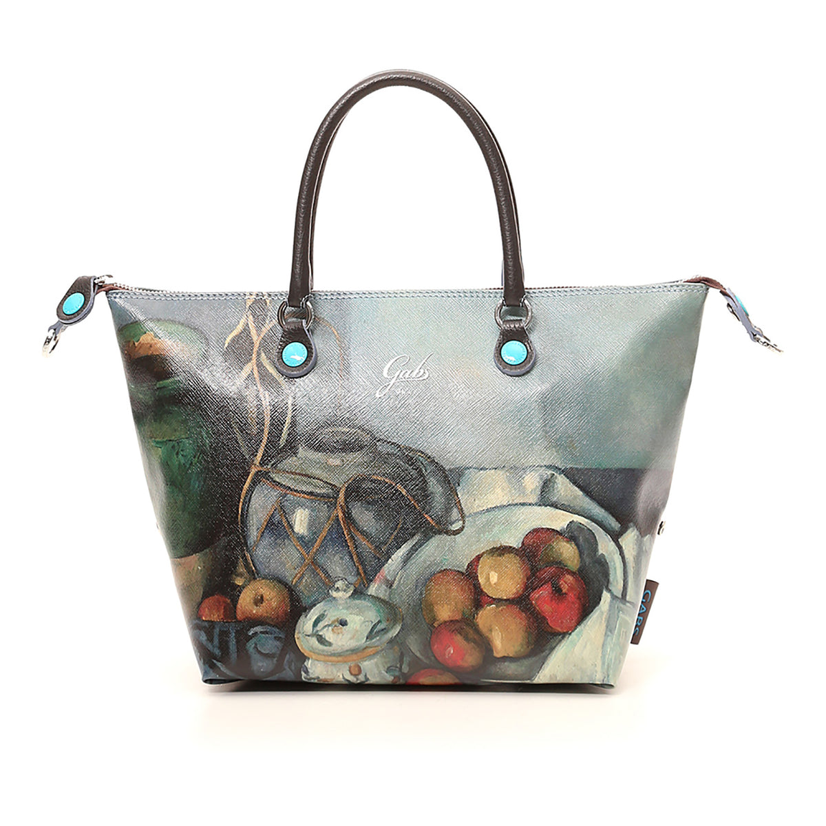 Small Convertible Hand Bag featuring Cezanne's Still Life with Apples by Gabs, Italy | Getty Store