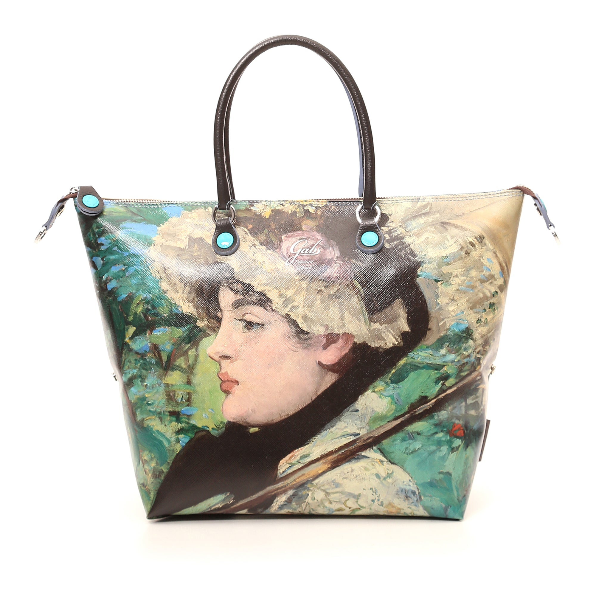 Large Convertible Hand Bag featuring Manet's Jeanne (Spring) by Gabs, Italy | Getty Store
