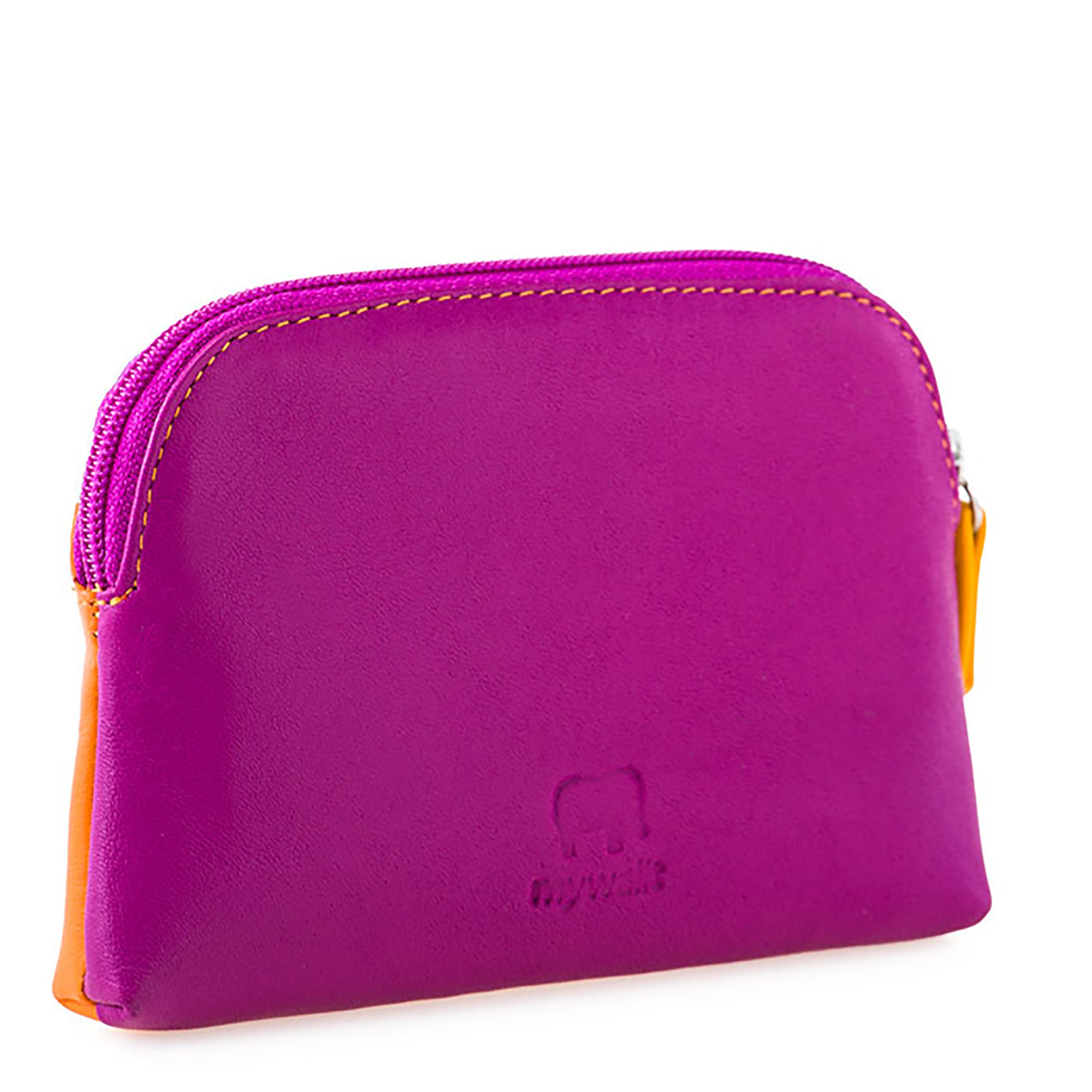 Colorful Leather Coin Purse- Copacabana | Getty Store