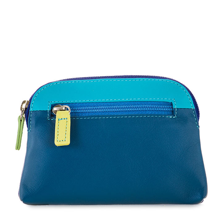 Colorful Leather Coin Purse- Seascape | Getty Store