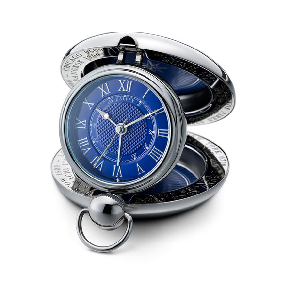 Voyager Travel Alarm Clock - Blue