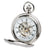 Demi Hunter Case Mechanical Pocket Watch-Chrome | Getty Store