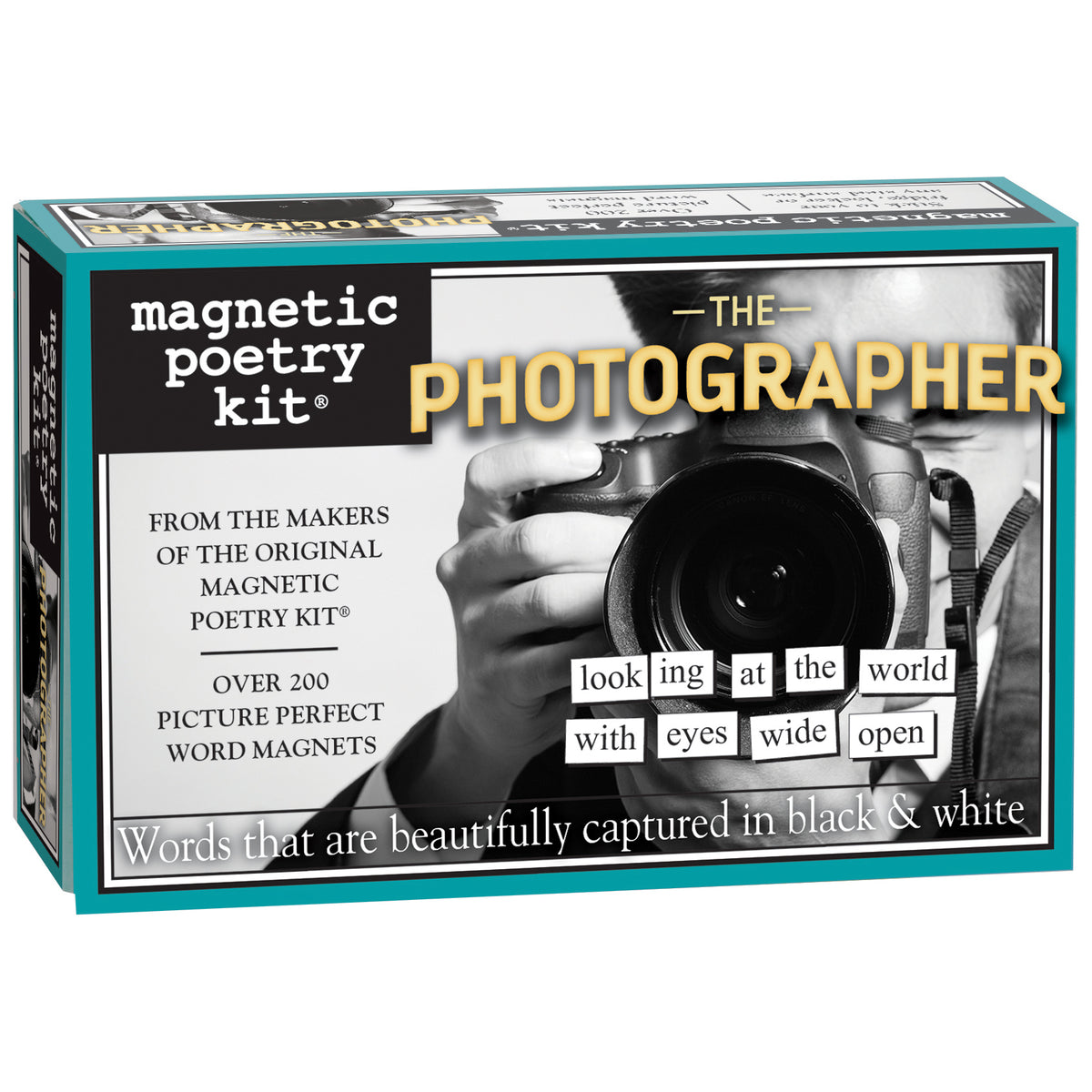 Magnetic Poetry Set- The Photographer | Getty Store