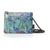 Clutch Bag featuring Van Gogh's Irises, by Gabs, Italy-Front View | Getty Store