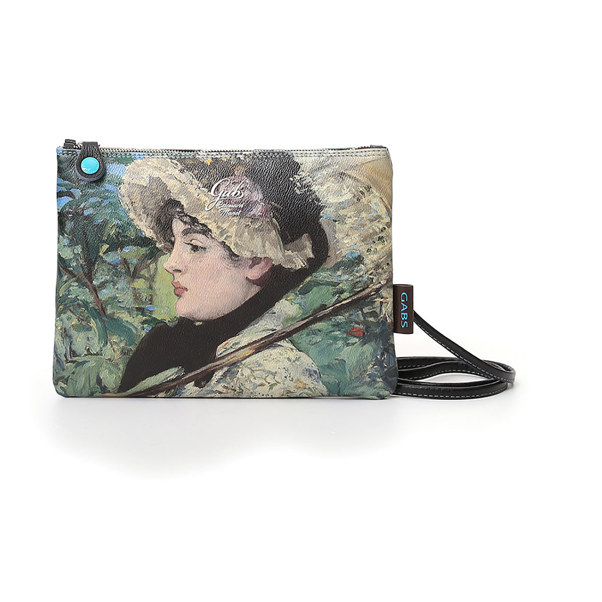 Clutch Bag featuring Manet's Jeanne, by Gabs, Italy-Front View | Getty Store