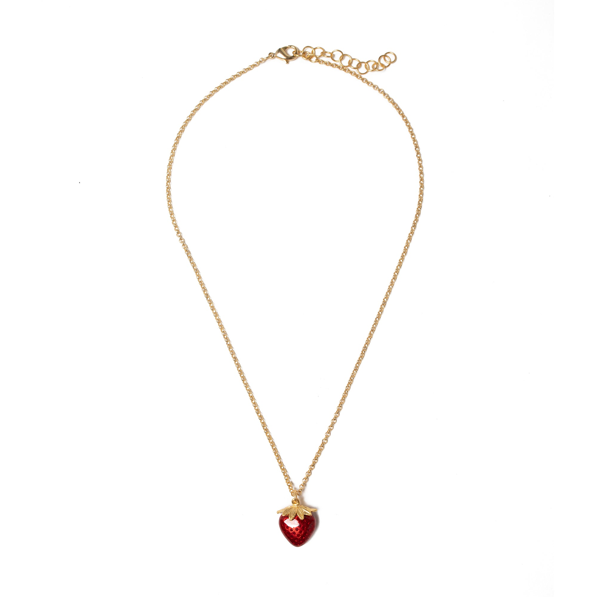 Manet Strawberry Pendant | Getty Store