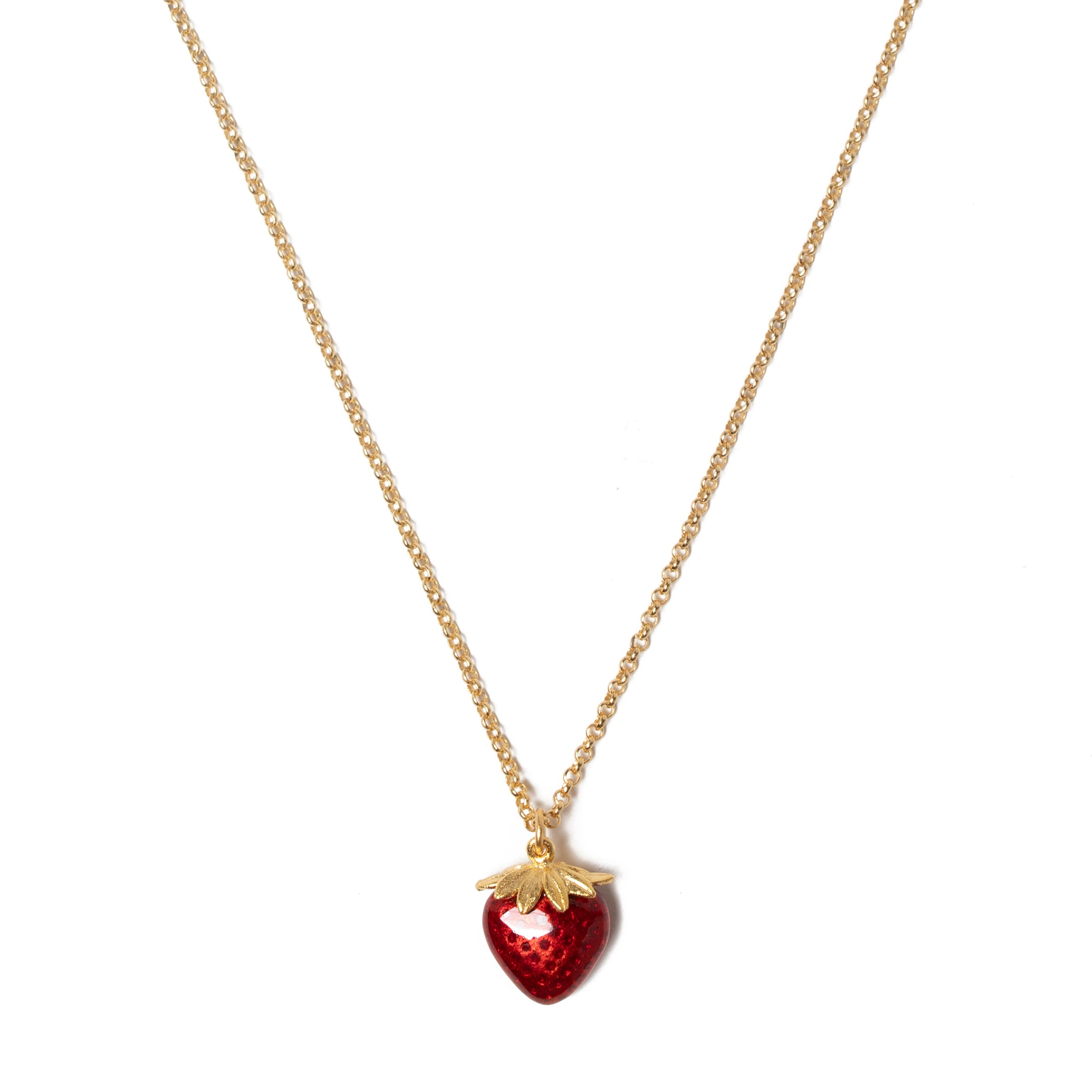 Manet Strawberry Pendant