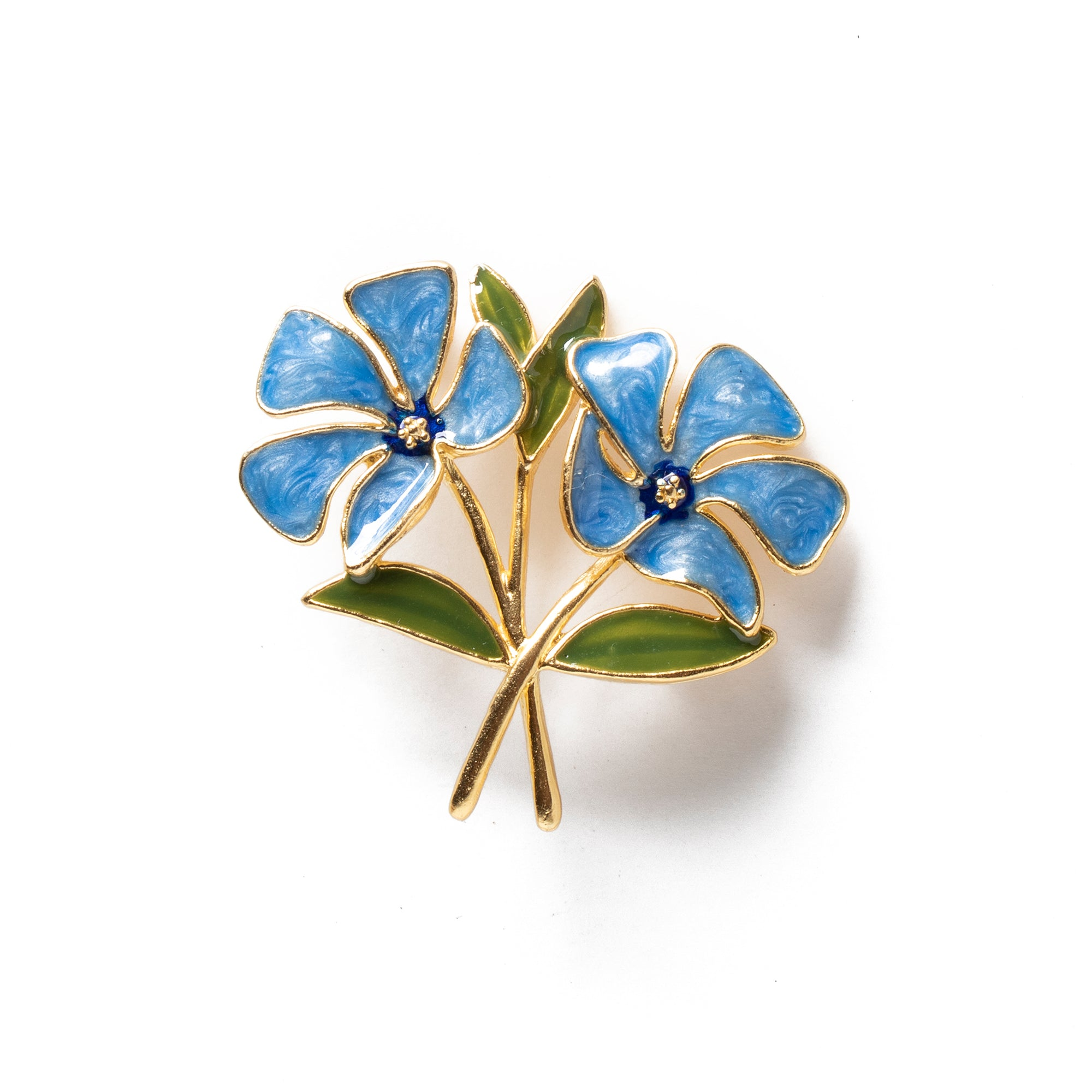Manet Periwinkle Brooch | Getty Store