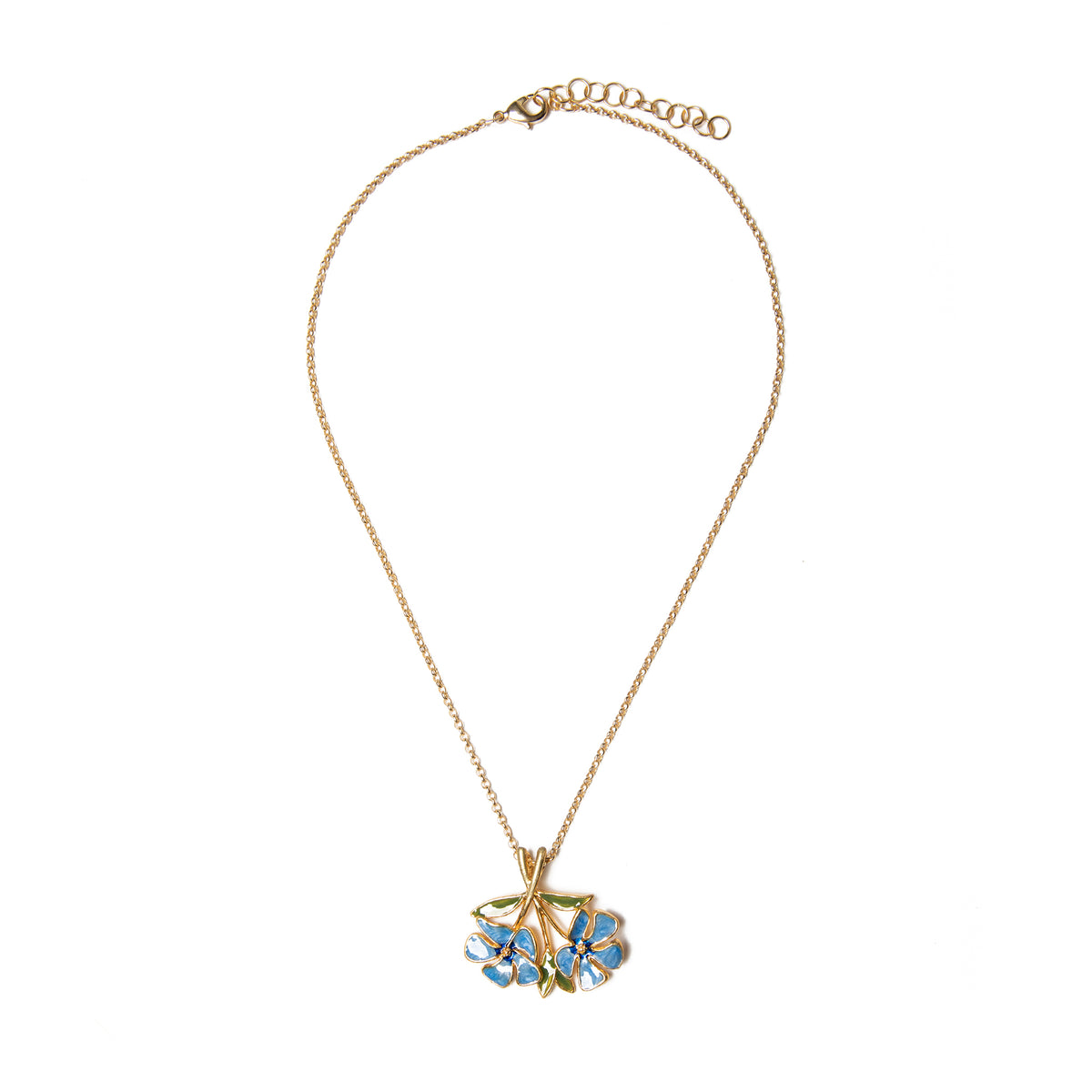 Manet Periwinkle Pendant | Getty Store