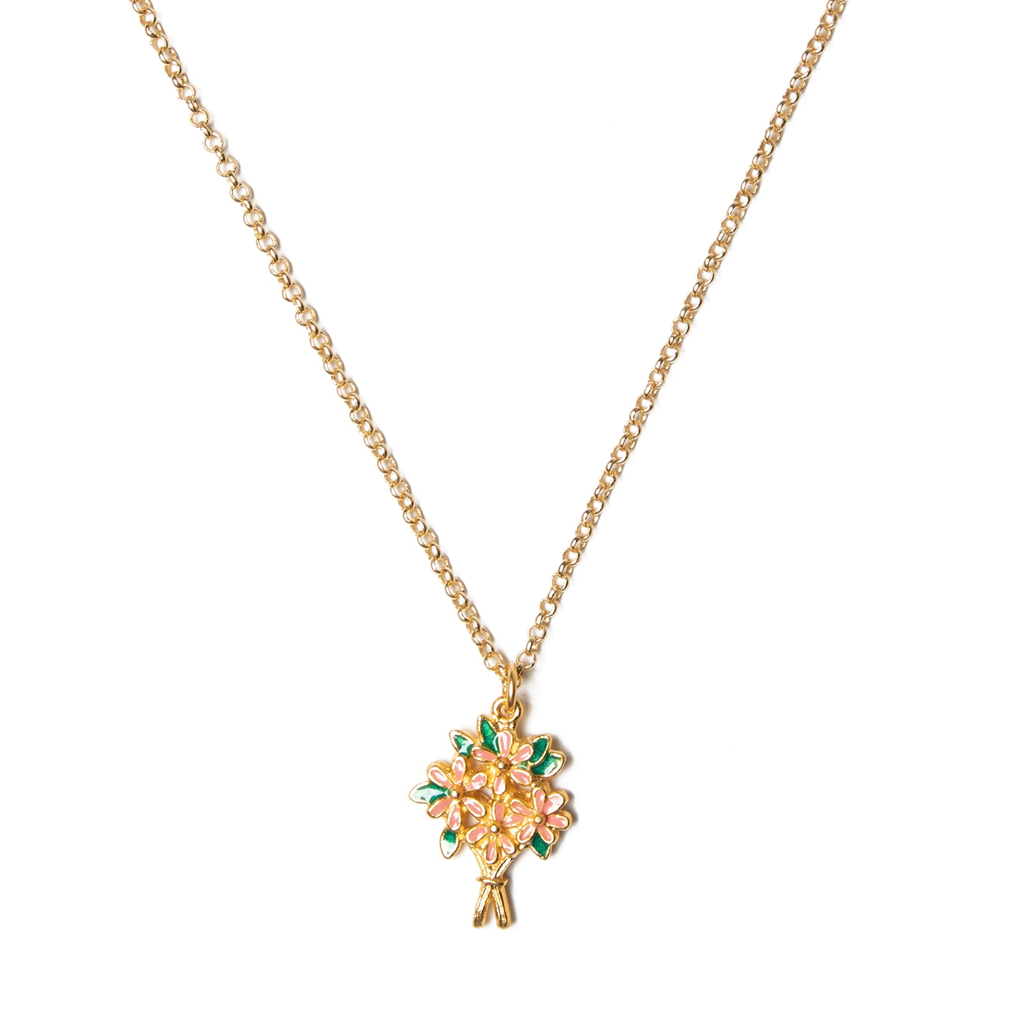 Manet Bouquet Pendant
