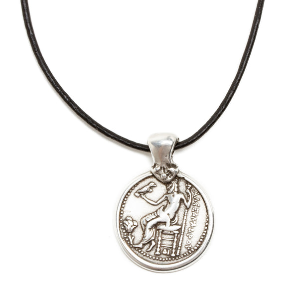 Alexander the Great Coin Replica Necklace