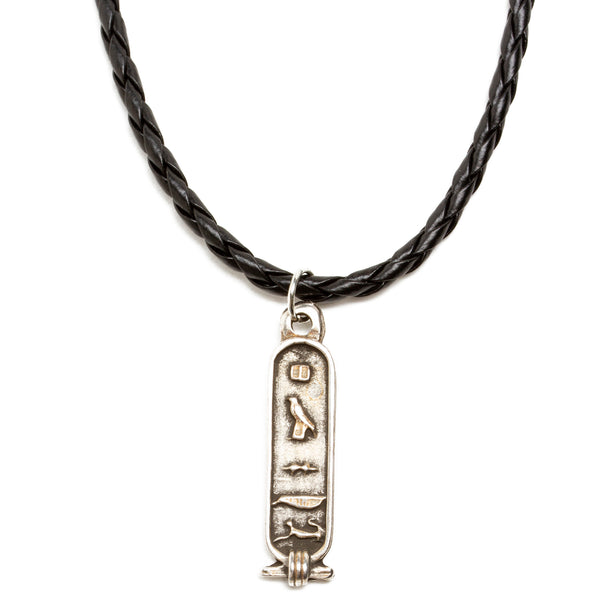 Egyptian Cartouche Pendant Necklace
