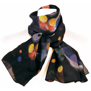 Silk Scarf - <i>Several Circles</i> by Wassily Kandinsky
