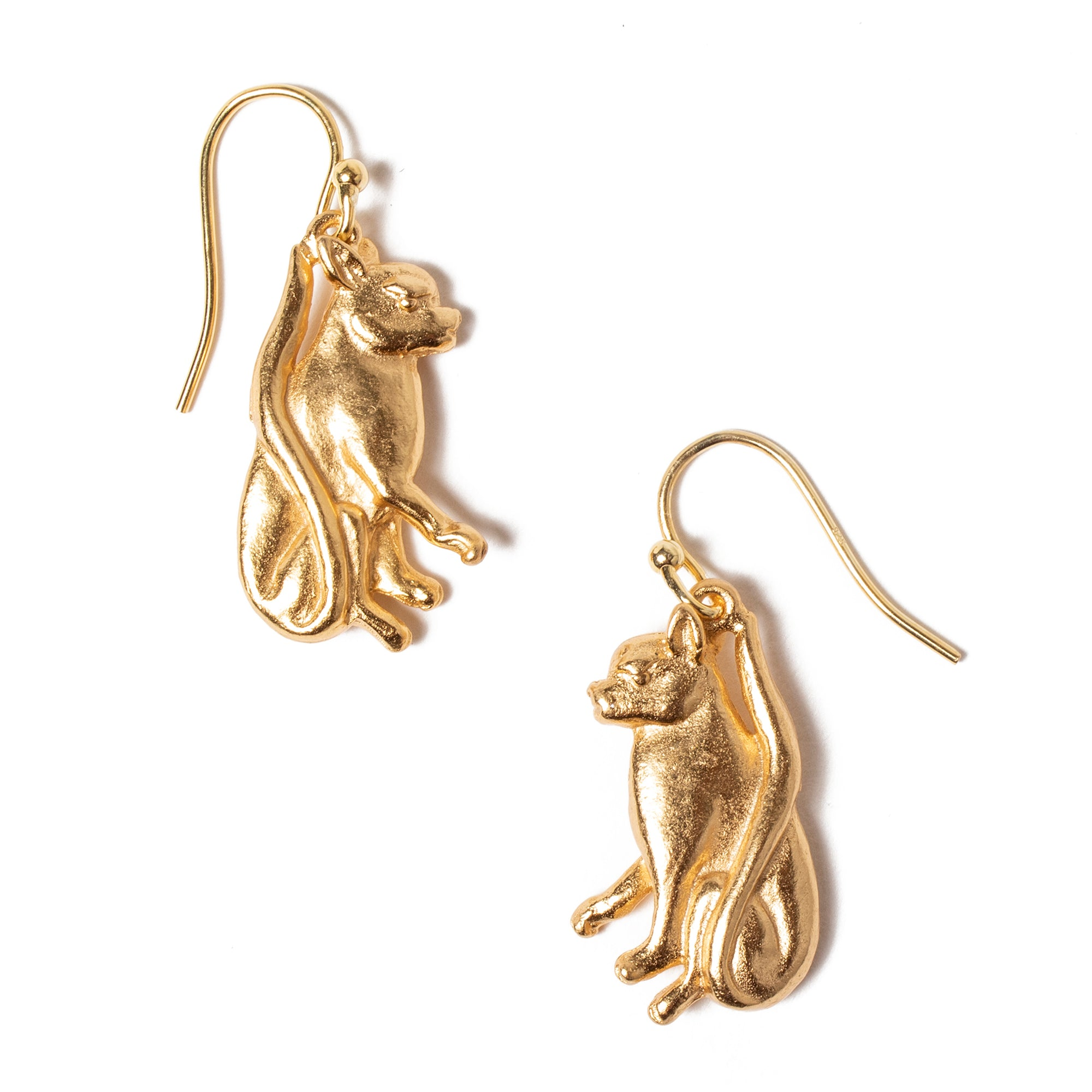 Cat Charm Earrings | Getty Store