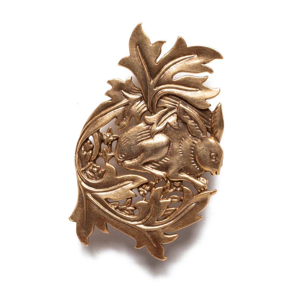 A Hare in the Forest Brooch | Getty Store