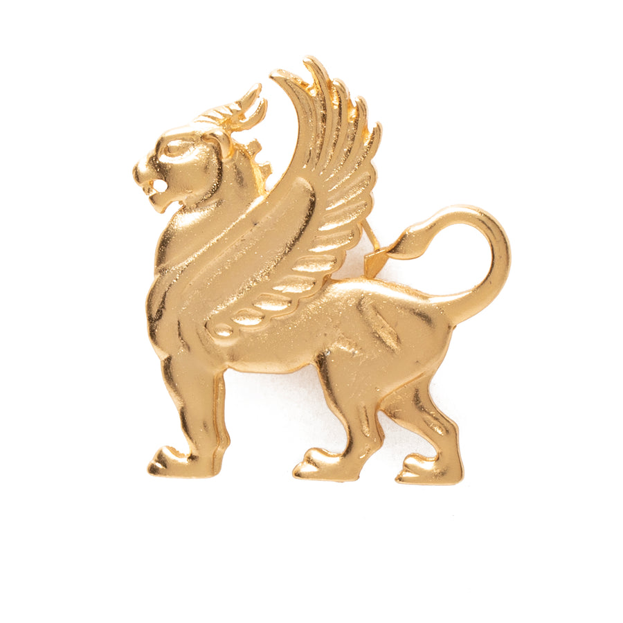 Griffin Brooch