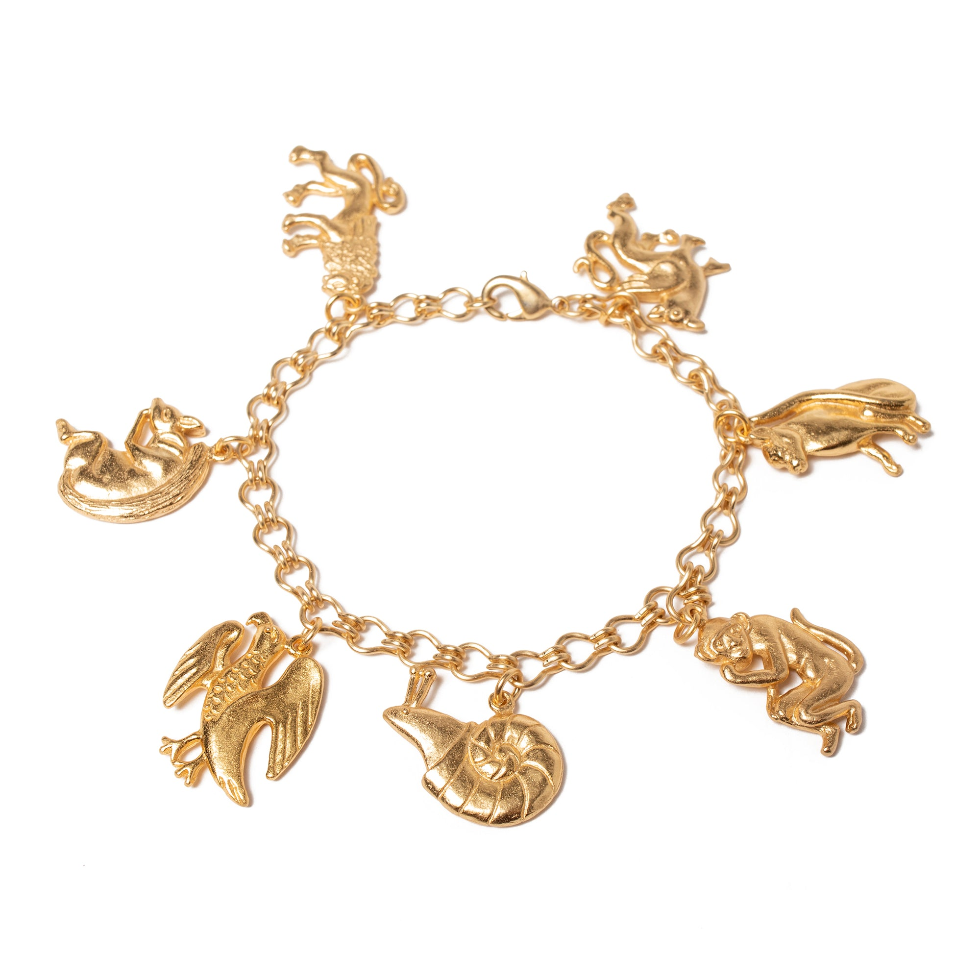 Book of Beasts Charm Bracelet