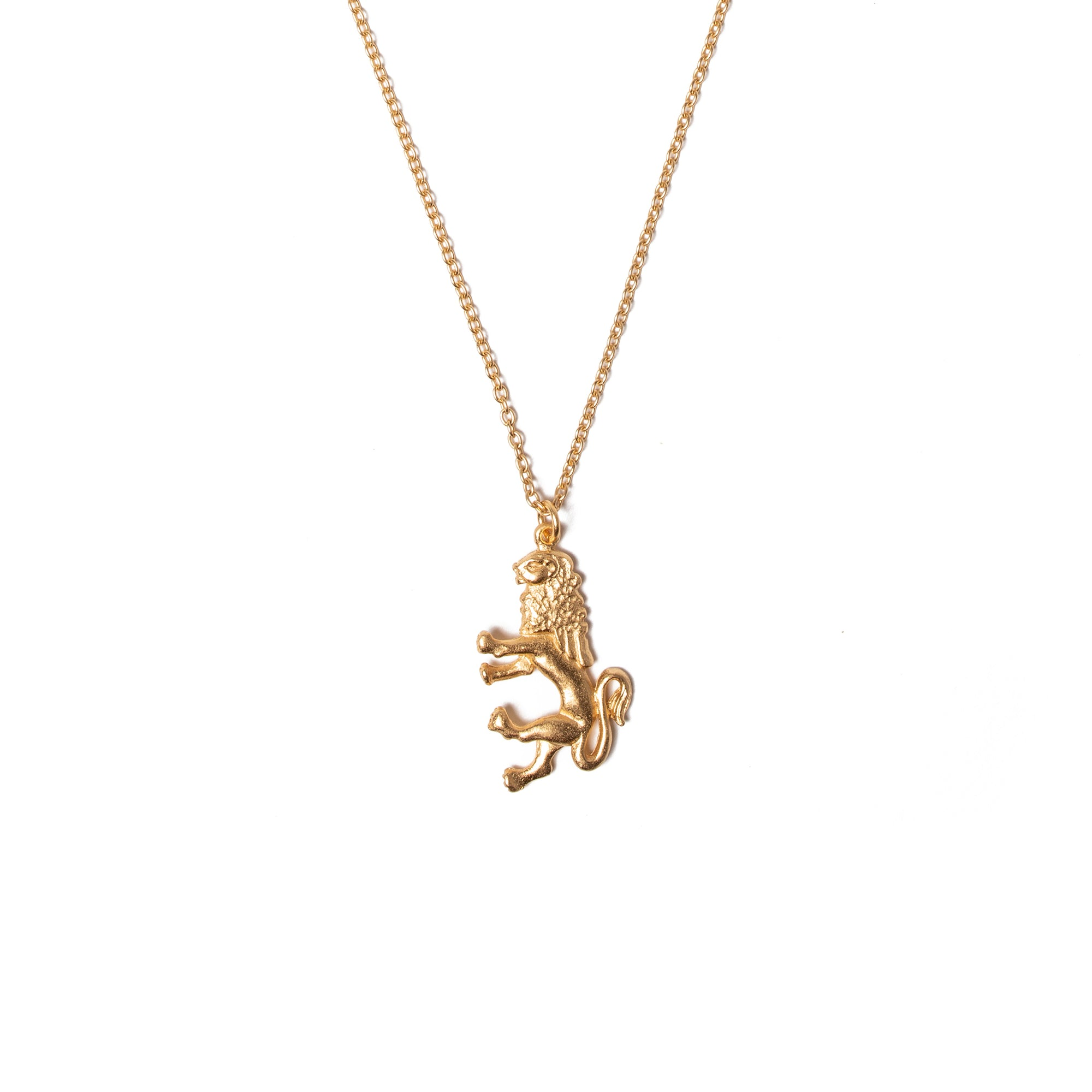 Lion Charm Pendant | Getty Store